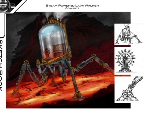 steam-punk-lava-walker-art