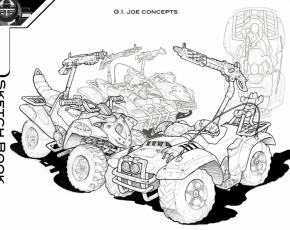 GI Joe 4 wheeler concept