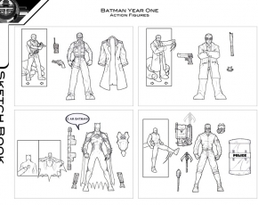 Batman Year One Concepts