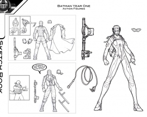 Batman Year One Concepts 2