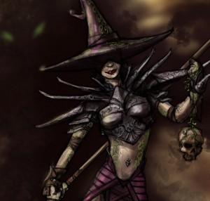 botany witch detail