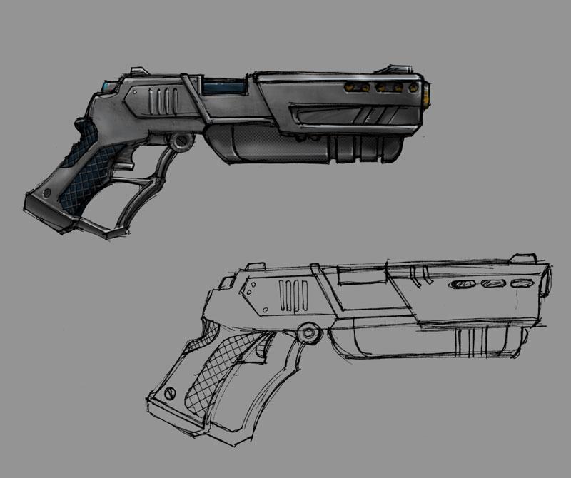 New Guns Designs For a New Gun For Robocop